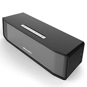 ◇BS-2 Bluedio Bluetooth 3D サラウンドスピーカー スピーカー ポータブル ワイヤレス ウーハー サウンド システム 3Dステレオ 音楽 サラウンド (ブラック)