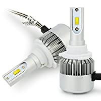 車用LEDヘッドライト HB3 9005 一体型 DC12V ポーペ(POOPEE) Philipsチップ搭載 36W 3800LM 高輝度 ledフォグランプ ホワイト 一年保証