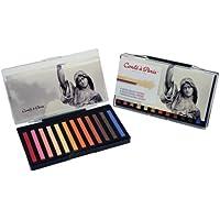 コンテ?ア?パリ カレコンテ カラー プラスチックボックス ポートレートセット 12色セット 50129
