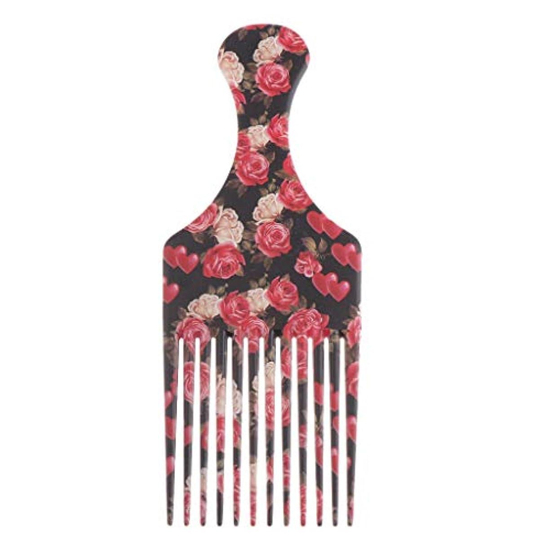 ほこりっぽい財団道を作るヘアダイブラシ 毛染めコーム 髪染め用ヘアコーム サロン 美髪師用 DIY髪染め用 全3サイズ - 大