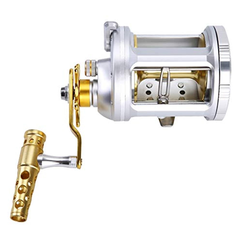 T TOOYFUL 釣りドラムリール 右手 14 + 1 BB 5.2:1 / 6.3:1 ノブ リールシート 耐摩耗性 耐久性 全5サイズ