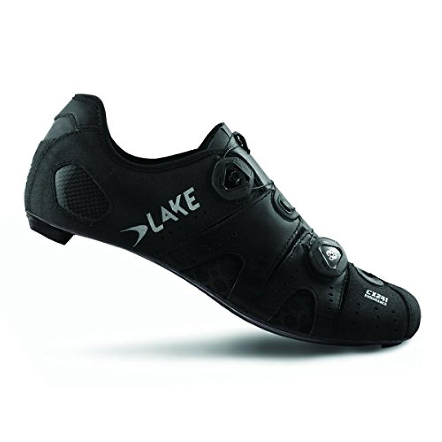 栄光突然広告湖Cycling 2018メンズcx241 Road Cycling Shoe – ブラック/シルバー