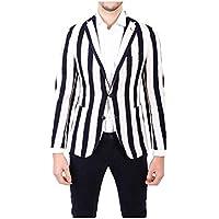 (タリアトーレ) Tagliatore メンズ アウター スーツ・ジャケット White/Blue Cotton Blazer [並行輸入品]