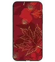 c1febf2aca iPhone 6 PLUS 専用 選べる デザイン プリント ケース TPU 背面 強化 ガラス 紅葉 A27