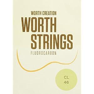 Worth Strings CL ウクレレ弦 クリアライト 46 インチ フロロカーボン
