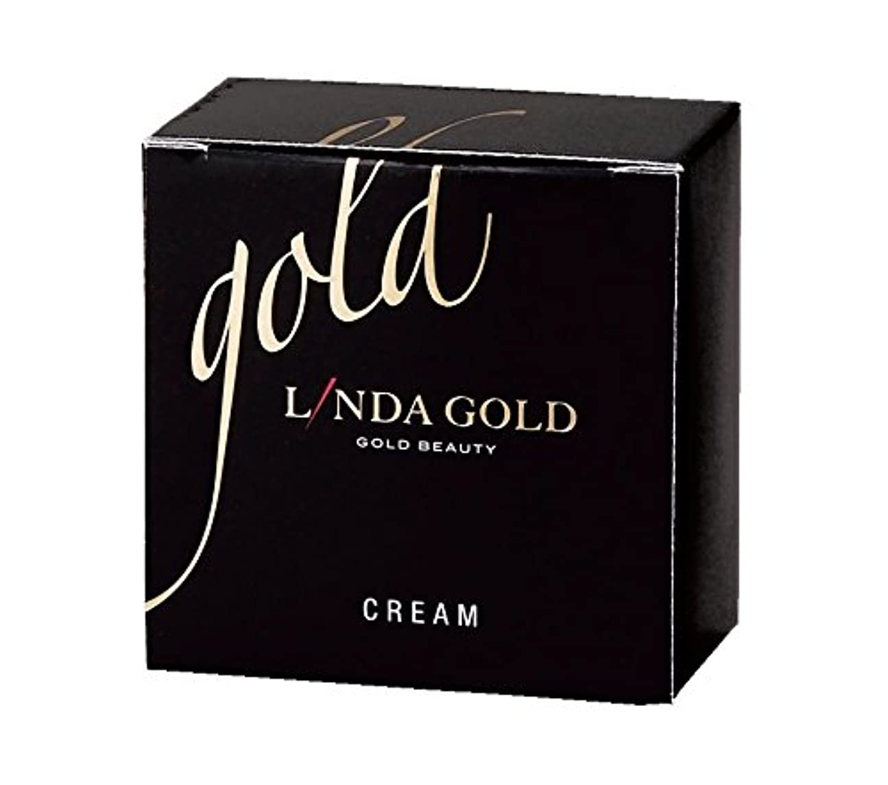 シェルター細い呼び出すLinda Gold クリーム