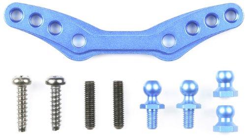 OP.1236 M-05 アルミフロントダンパーステー (ブルー) 54236 (ホップアップオプションズ No.1236)