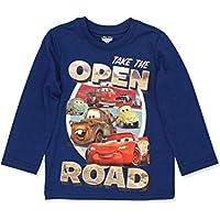 Disney Cars 3 Lightning McQueen Boys Long Sleeve Tee (Toddler)