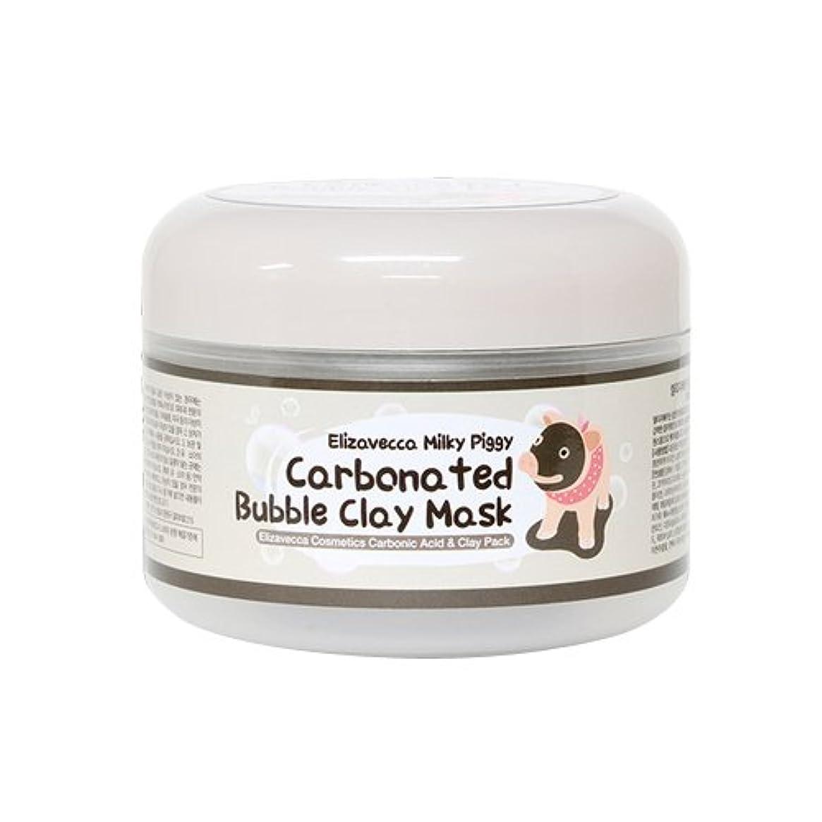 分子ラケット注目すべき[Elizaecca/エリザベカ/SESALO]炭酸バブルクレイマスク/Carbanated bubble clay mask[海外直送品]
