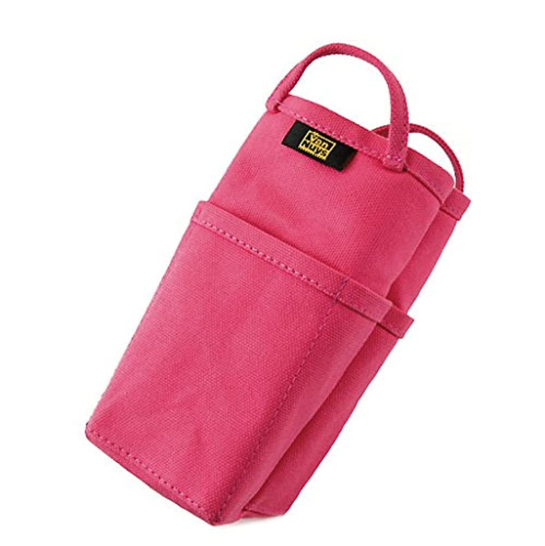 バンナイズ 帆布 の バッグインバッグ / 縦型 ( 8号 帆布 製 / ピンク )