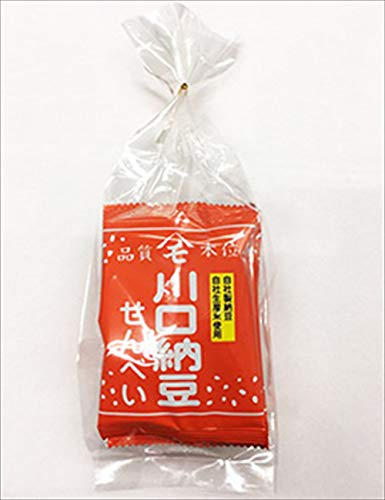 川口納豆煎餅4枚入り ×30袋