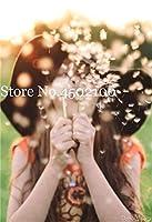 100個タンポポMongolicum花盆栽、盆栽タンポポ美しいモンゴルタンポポ盆栽DIYホームガーデン用品:17
