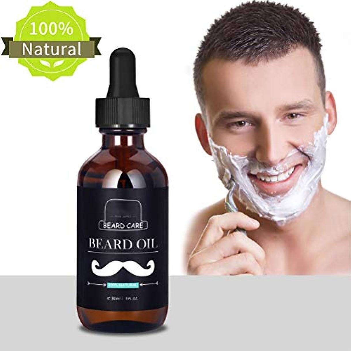 Creacom ひげ油 ひげオイル 口髭成長用 30ml トリートメント液 グルーミング ひげの成長 保湿 コンディショナー ひげの成長 保湿 コンディショナー ひげオイル ヘア ナチュラル
