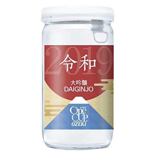 【令和(れいわ Reiwa)】大関 ワンカップ大吟醸 新元号ラベル [ 日本酒 兵庫県 180ml×30本 ]