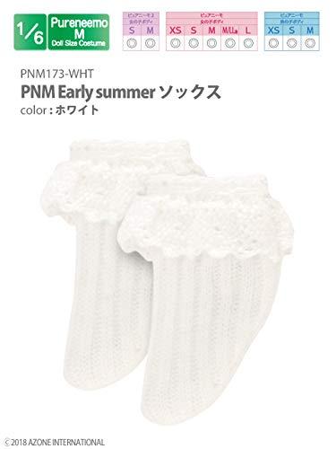 ピュアニーモ用 PNM Early summer ソックス ホワイト (ドール用)