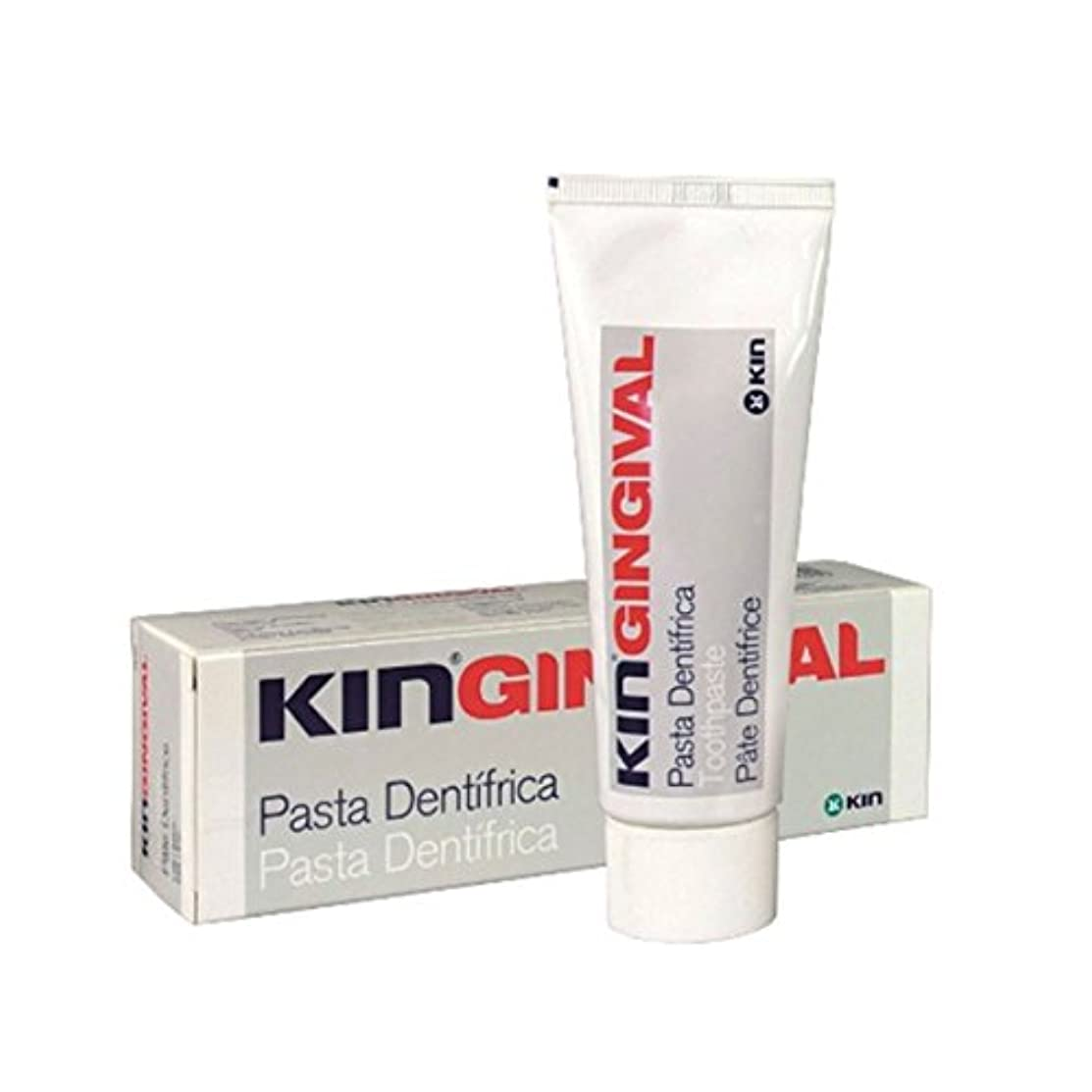 球体打倒ブリードKin Gingival Sensitive Gums Toothpaste 75ml [並行輸入品]