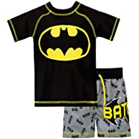BATMAN Boys DC Comics Swim Set