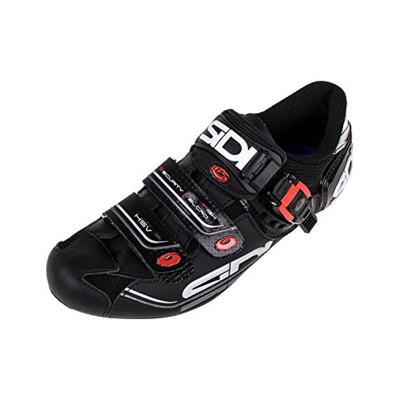 スクラップ導出回転するSidi Genius 7 Road靴 カラー: ブラック