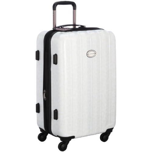 [ビバユー] VIVAYOU スーツケース 50L 拡張機能付 ホワイト