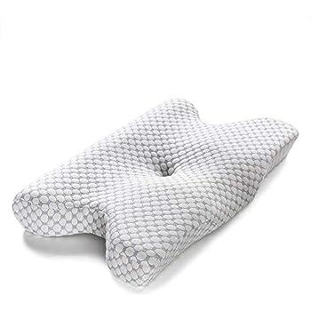 Keciepo 次世代人間工学 安眠枕 低反発枕 安眠 人気 頚椎サポート 横向き寝 頚椎安定 柔らかい 呼吸が楽 高通気 洗える 抗菌 防臭 まくら