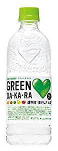 サントリー GREEN DA・KA・RA 550mlペット×24本