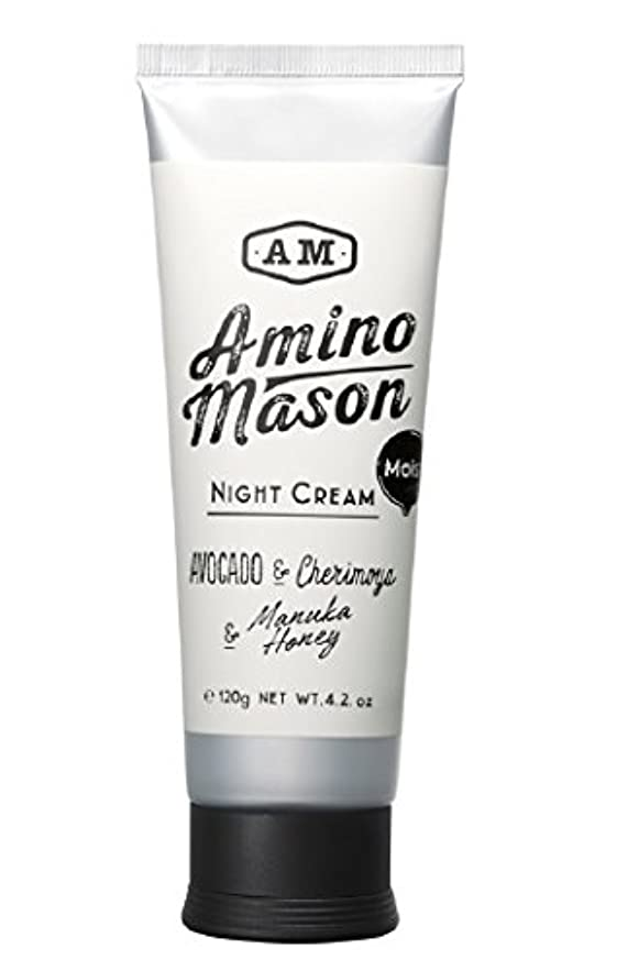 世界的にスマイルかかわらずアミノメイソン モイストナイトクリーム 120g