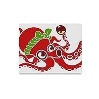GSHCJ アートパネルポスター たこ焼き 壁飾り 壁掛け 壁画 絵画 木枠 キャンバス モダン アート印刷 50cm×40cm軽量 木製