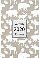 2020 Weekly Planner: Woodland 6 x 9 inch 150 Pages Year Months Weeks Calendar, Schedule, and Organizer plus Dot Grid Pages (January 2020 - December 2020) (Woodland Planners)