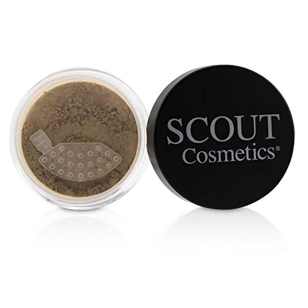 かける手荷物診断するSCOUT Cosmetics Mineral Powder Foundation SPF 20 - # Almond 8g/0.28oz並行輸入品