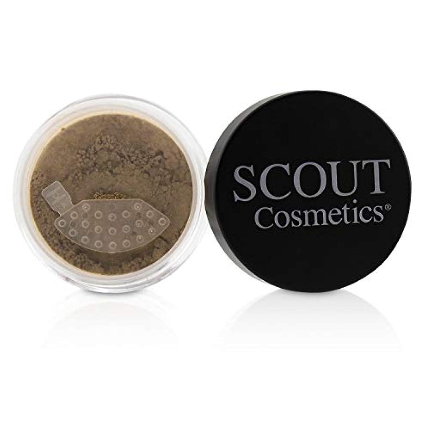 カロリーチェス葉SCOUT Cosmetics Mineral Powder Foundation SPF 20 - # Almond 8g/0.28oz並行輸入品