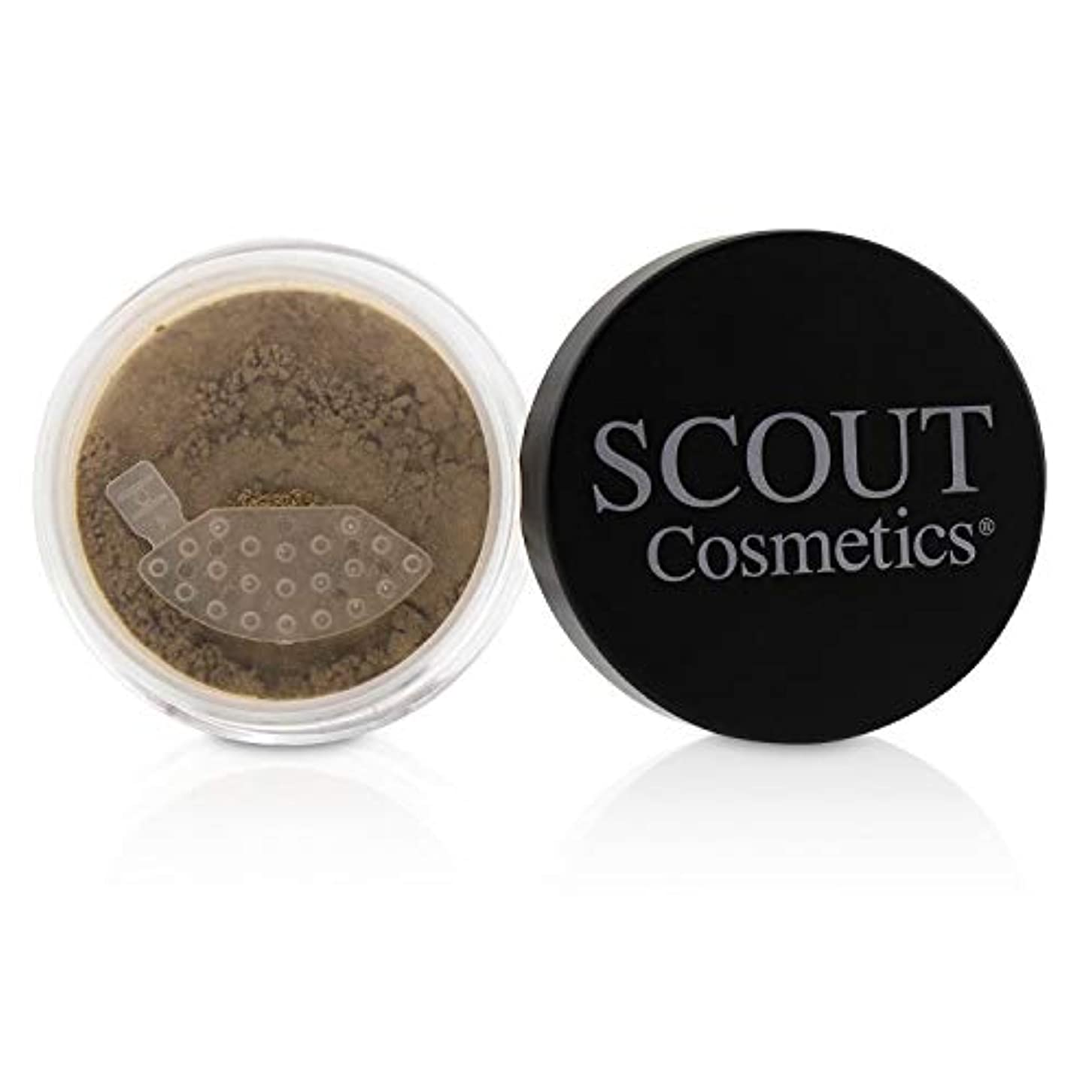 猟犬数学的な倉庫SCOUT Cosmetics Mineral Powder Foundation SPF 20 - # Almond 8g/0.28oz並行輸入品