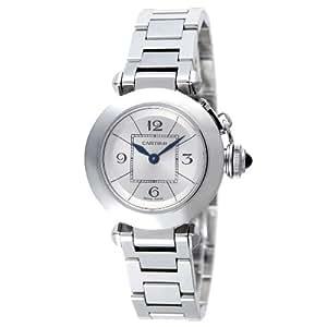 [カルティエ]Cartier 腕時計 ミスパシャ ステンレススチール シルバー レディース W3140007 レディース 【並行輸入品】