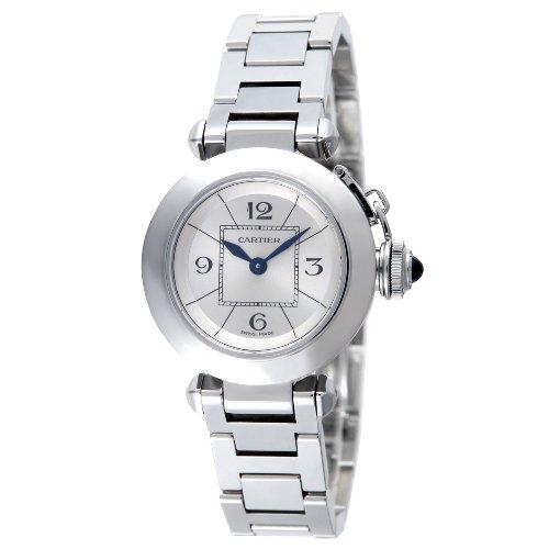 腕時計 ミス パシャ シルバー W3140007 カルティエ
