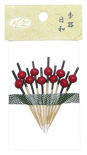 Bamboo クリーンバンブー Clean Bamboo クリーンバンブー 新珠かんざし串 5cm 10本入 69-911-3