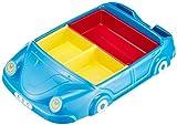 お子様食器 自動車 ランチ皿 ブルー 01702B