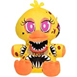 Funko Chica: Five Nights at Freddy 's - The Twisted Ones x 収集価値のあるぬいぐるみ + 公式FNAF トレーディングカード1枚 [29701]