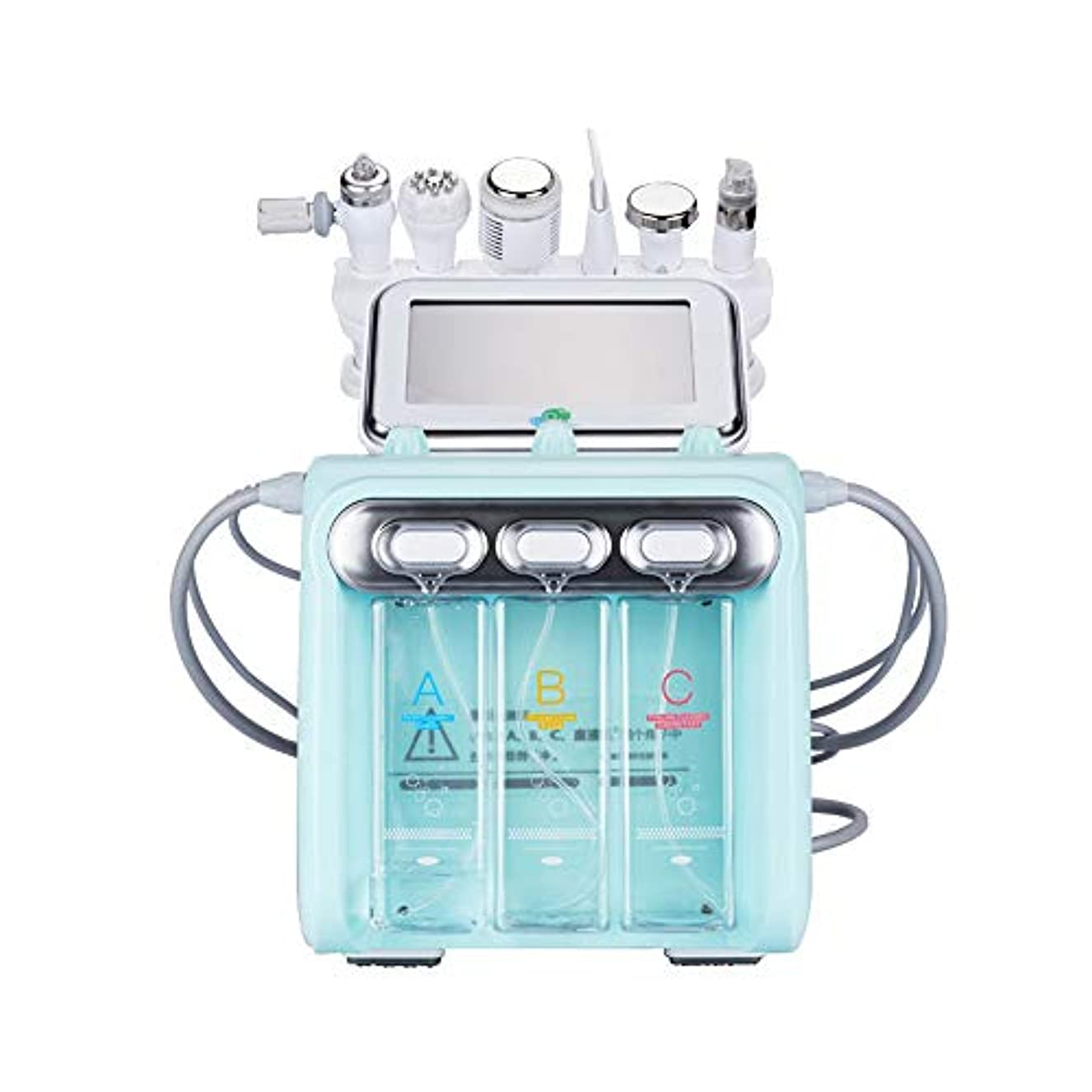 くしゃみ高齢者ペット1つの多機能スキンクリーナーの水素酸素小さなバブルhydrofacial 6