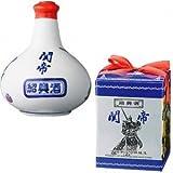 関帝 白磁 陳年紹興酒 10年 500ml 【壷】【中国酒】