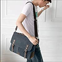 Brand New Mens Tactical Military Vintage Trailblazer Laptop Bag with Leather Accents