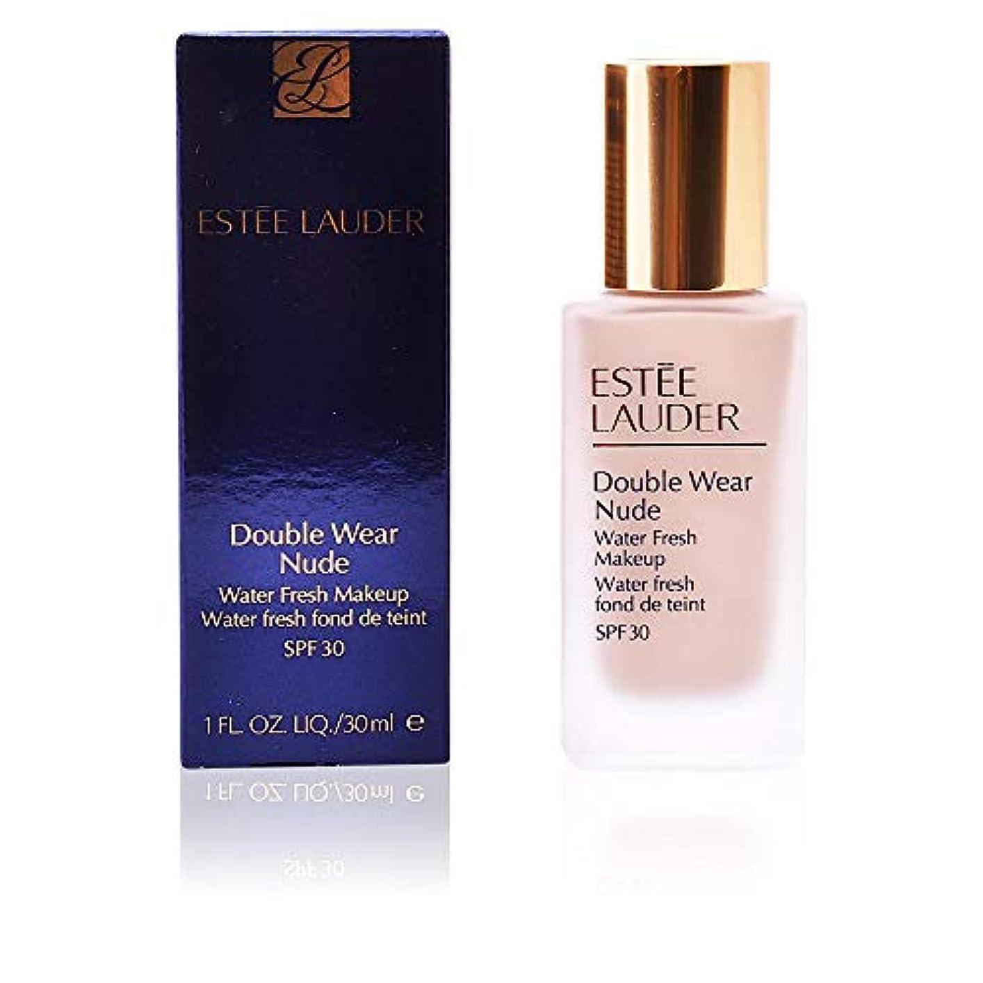 人差し指青に渡ってエスティローダー Double Wear Nude Water Fresh Makeup SPF 30 - # 2C2 Pale Almond 30ml/1oz並行輸入品