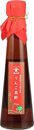 福山酢醸造 りんご黒酢 200ml