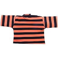 SONONIA ファッションドール服 18インチアメリカンガールドールのため Tシャツ トップ 全9色 - オレンジ#2