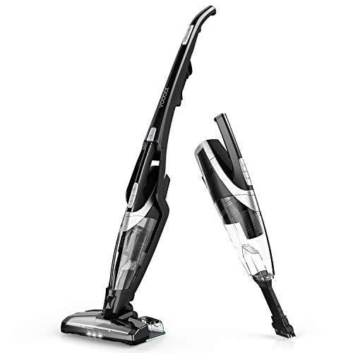 コードレス掃除機 Vodool 3in1 掃除機 コードレスクリーナー スティッククリーナー 8000Kpa強力吸引 ハンディクリーナー サイクロンクリーナー HEPAフィルター (ブラック)