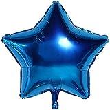 アルミバルーン バルーン アルミ風船 キラキラ光沢 10インチ スターバルーンセット クリスマス 誕生日 パーティー ウエディング 装飾セット 面白い 可愛い が選べるパーティ イベント 多色 明るい色 5パック