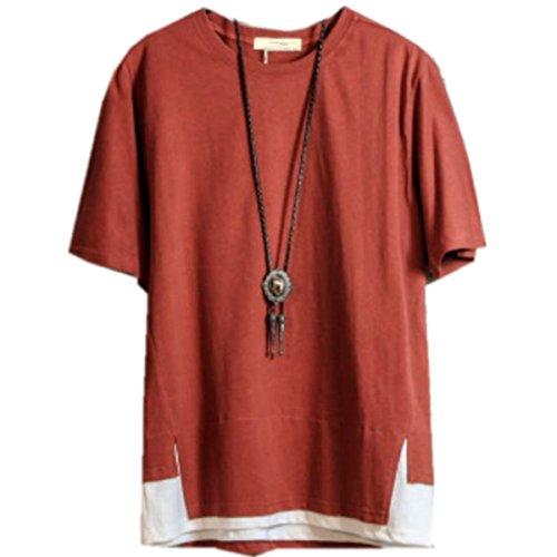 ININUK Tシャツ メンズ 短袖  春 夏  Tシャツ ゆったり個性 スポーツ かっこいい おしゃれ Tシャツ 春夏 ファション 人気 快適 カジュアル メンズTシャツ カットソー 薄手 涼しい Tシャツ クール 学生時代