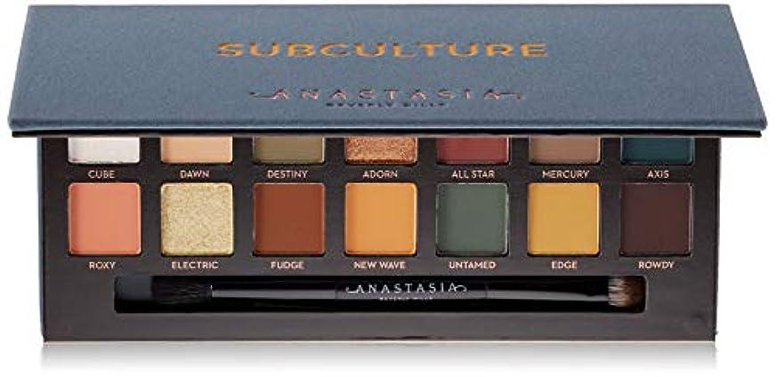 事件、出来事浸食ゴールANASTASIA BEVERLY HILLS Subculture Eyeshadow Palette