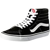 Vans SK8-Hi Shoes, Black/White