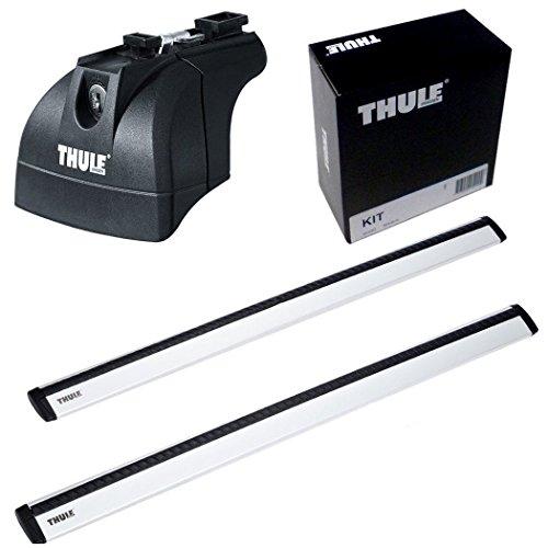 THULE スーリー ベースキャリアセット 753+961+4001 アウディ A6アバント ダイレクトルーフレール付 2012- 753+961+4001