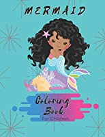 Mermaid Coloring Book: For Girls 4-6   30 Pages   Paperback   Made In USA   Size 8.5x11