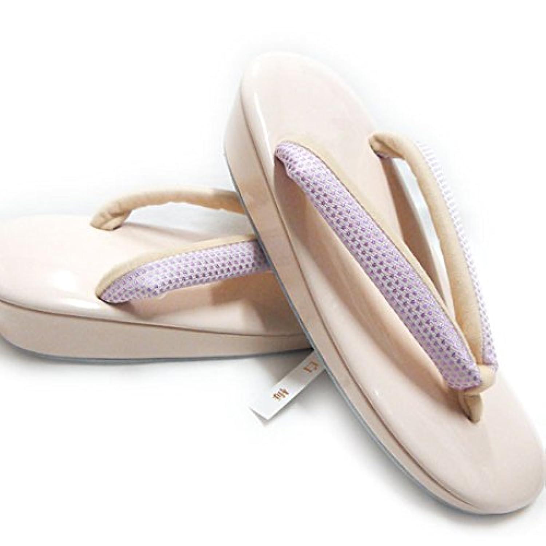 ノーブランド品 草履 単品 女性 白梅謹製 フリーサイズ ぞうり 振袖用 正装用 おしゃれ用 ピンク